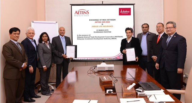 Jubilee Life Insurance signs MOA with AETINS SDN BHD