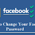 Facebook Password Change
