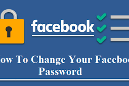 How to Change A Facebook Password 2019