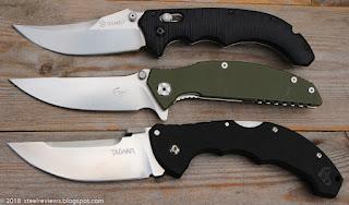 Ganzo G712 / F712, Enlan EW054-1 and Cold Steel Talwar