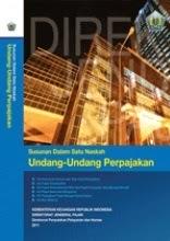 Buku Persandingan Satu Naskah Undang-Undang Perpajakan 2011