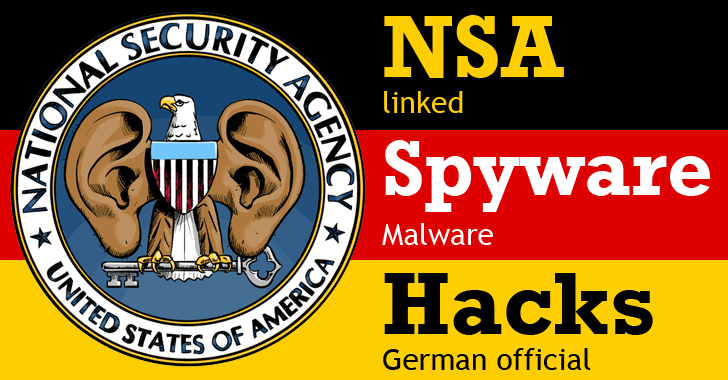 NSA-linked Spying Malware Infected Top German Official's Computer