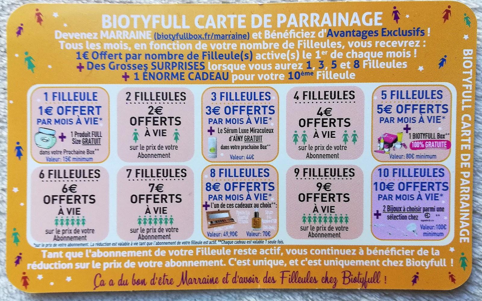 parrainnage biotyfull box