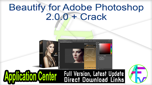 Beautify for Adobe Photoshop 2.0.0 + Crack