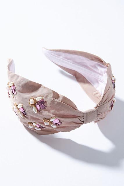 headband, hair accessory, fashion, beaded headband,  blah to TADA