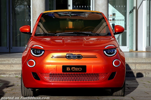 Fiat 500 Electric Bulgari