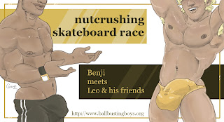 https://ballbustingboys.blogspot.com/2019/09/nutcrushing-skateboard-race-benji-meets.html