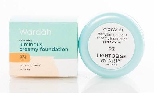 Foundation Luminous Creamy untuk kulit berminyak