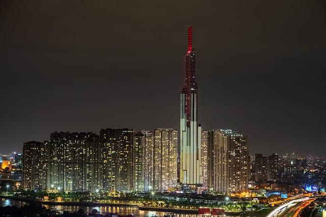 Ảnh đẹp tháp landmark 81 mới nhất