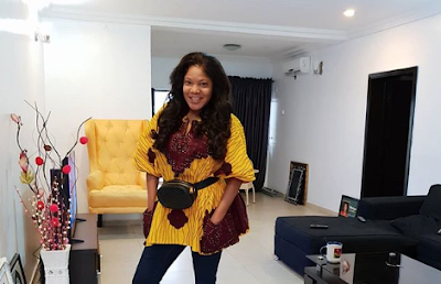 Actress Toyin Abraham  Shows Off The Interior Decor Of Her Home