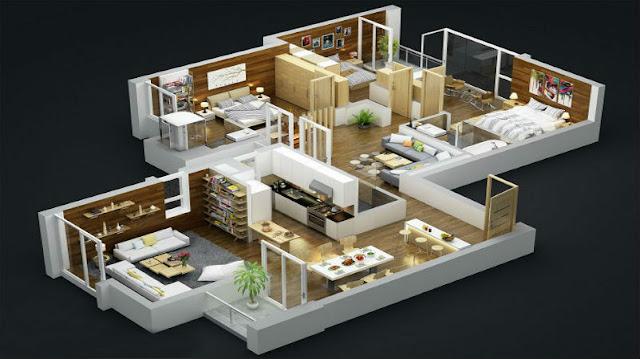 Nhiều loại hình căn hộ đa dạng