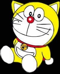 Doraemon Kuning di Sekolah Robot - In Japan
