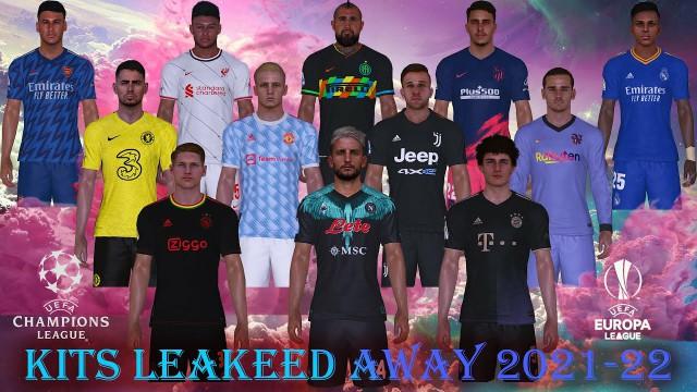 PES 2017 Kits Leaked Season 2021-2022 V2 Away Version