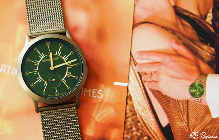 Lilienthal Berlin - The L1 Limited Edition 'Golden 20s' Watch