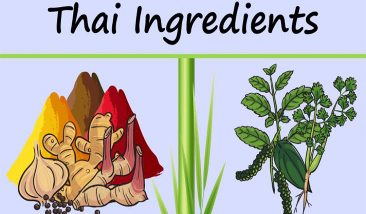 Thai food ingredients – Things You Need to Keep Thai Food Cook #infographic