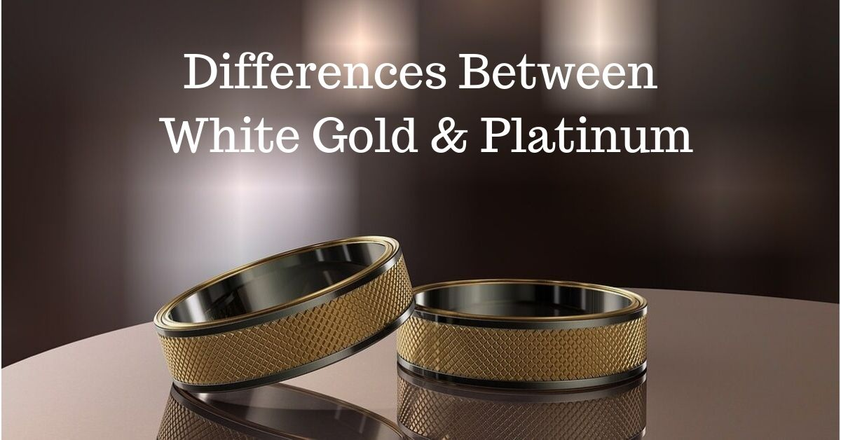 White Gold and Platinum