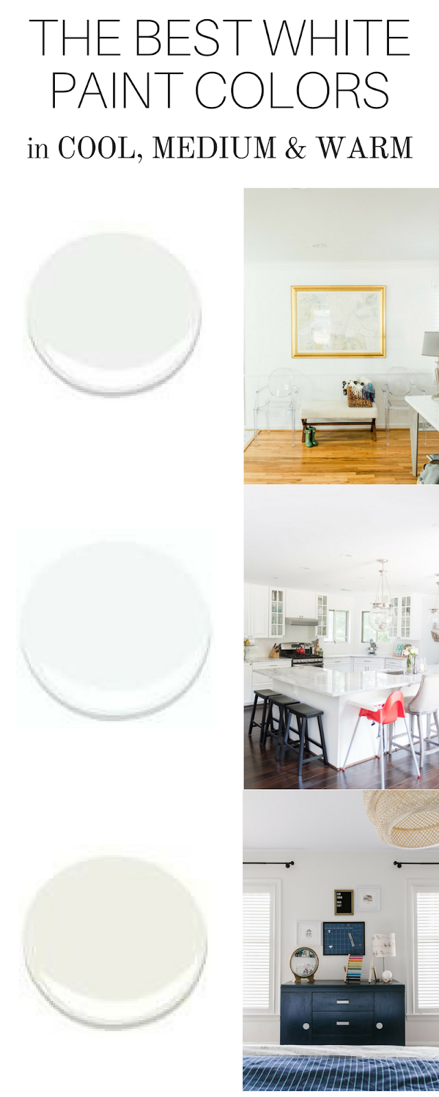 The Best White Paint Colors