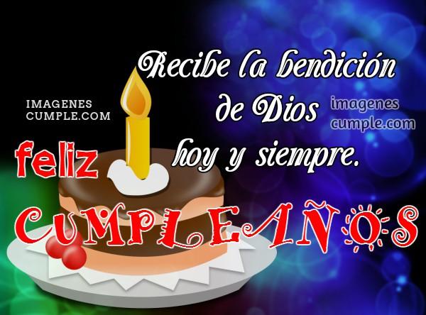 Bonito mensaje cristiano de cumpleaños para una amiga con tarjeta, imágenes lindas de cumple con frases cristianas y buenos deseos por Mery Bracho
