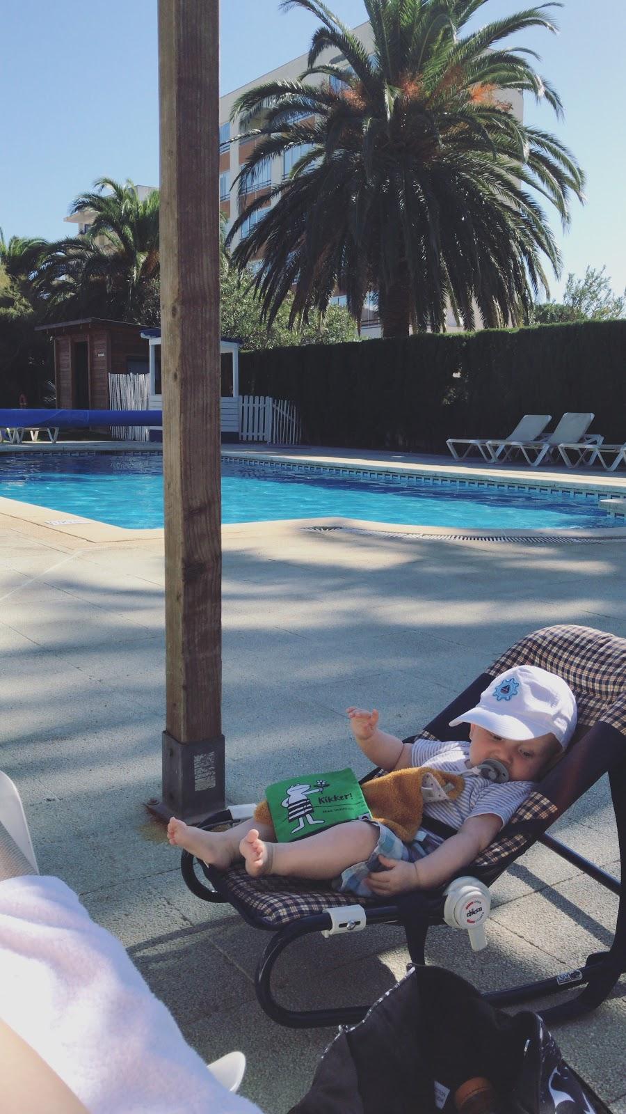 Mijn week in foto's 5 uitzicht zwembad