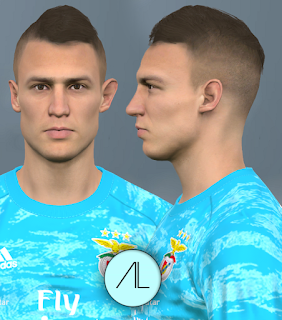 PES 2017 Faces Odisseas Vlachodimos by Alief