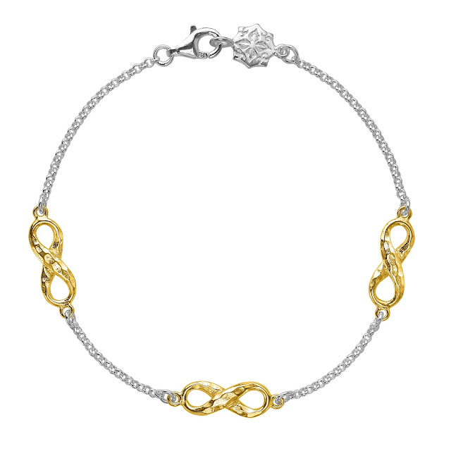 Dower & Hall London Entwined Triple Infinity Bracelet + Competition