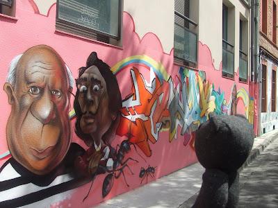 Graffiti à Toulouse