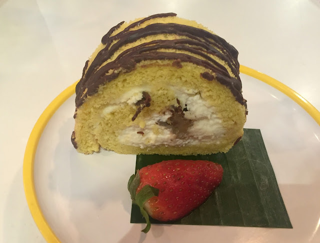 Yo Sushi Tokyo banana cake