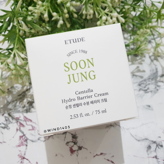 Review Etude House Soon Jung Centella Hydro Barrier Cream