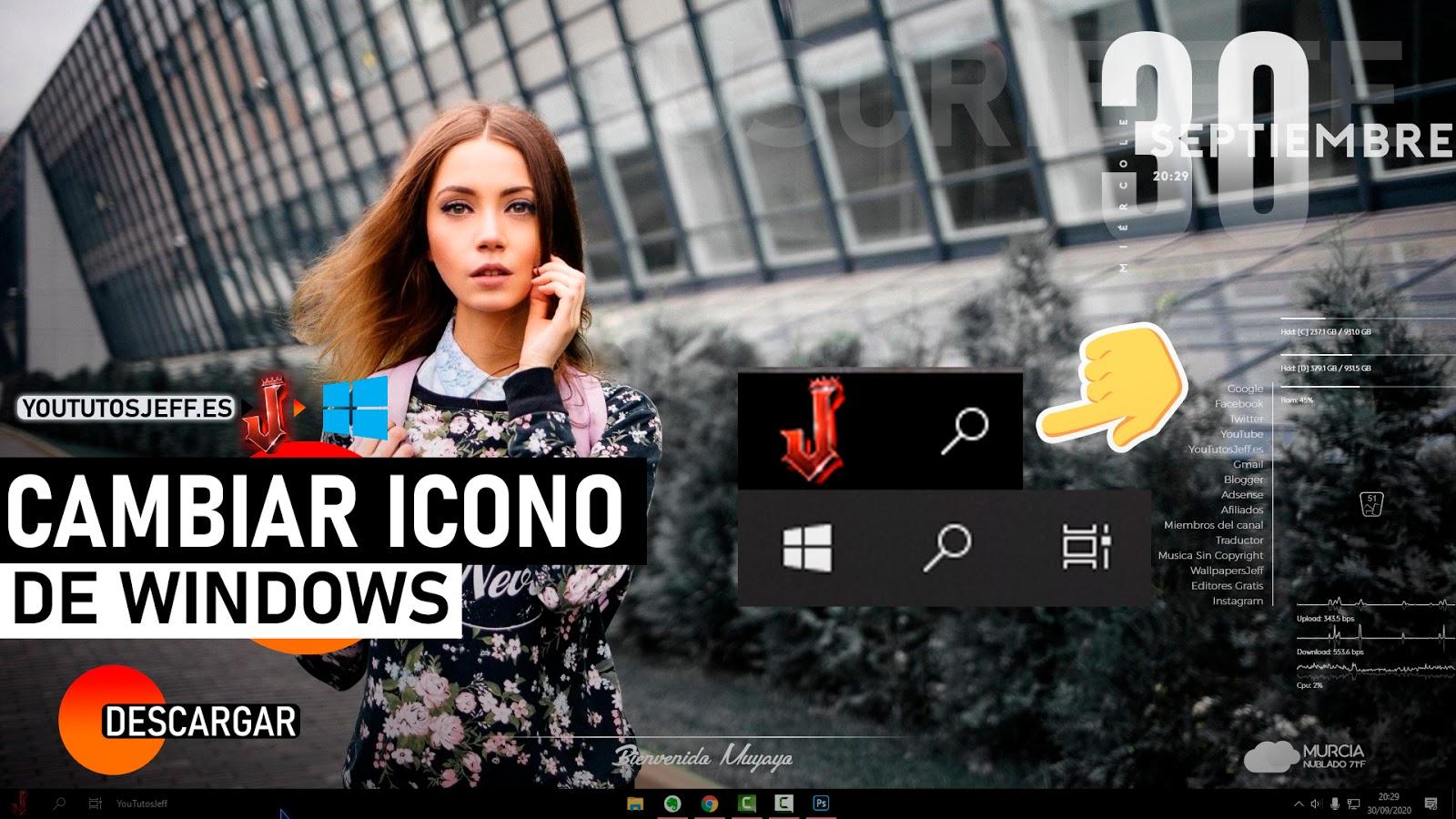 Cambiar Icono de Windows en la Barra de Tareas ORB