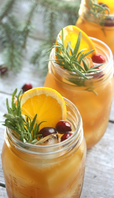 Holiday Bourbon Punch