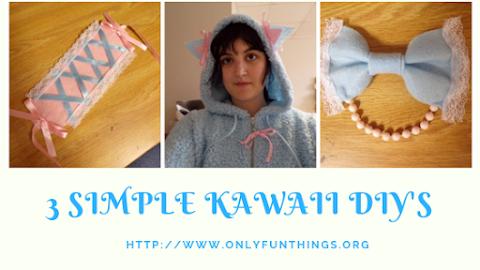 3 Simple Kawaii DIY's ! - Kawaii Fridays!