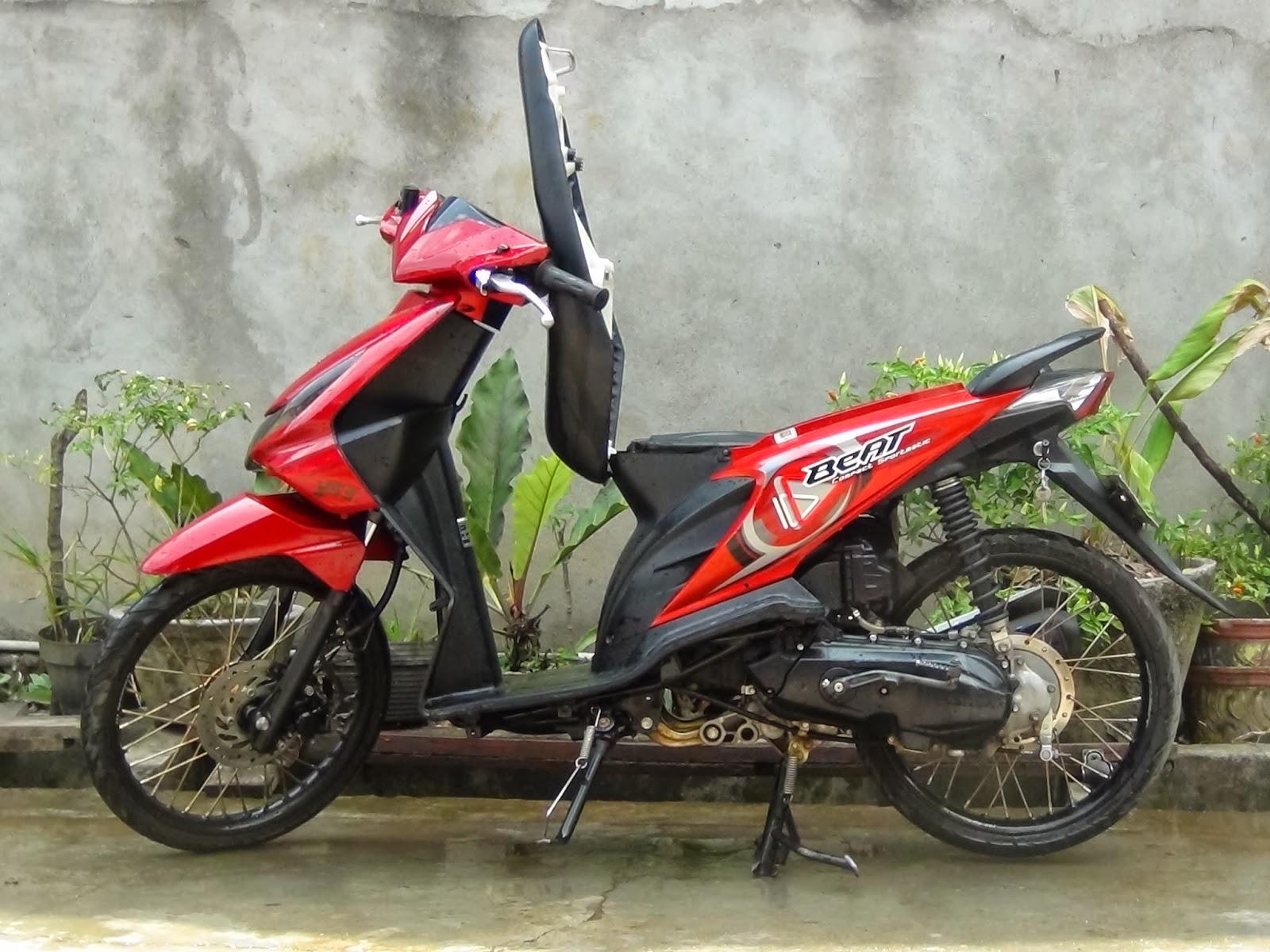 Motor Beat Modifikasi Tips Bikin Honda Beat Irit