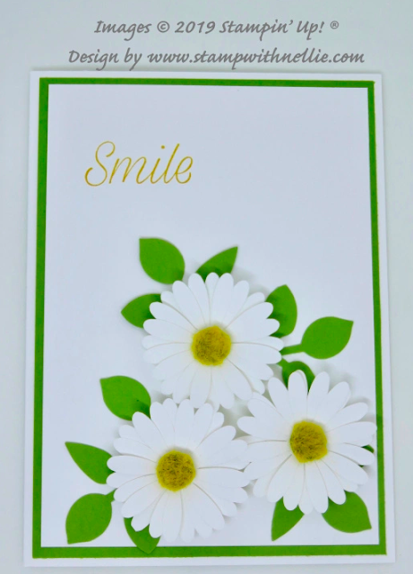 Nigezza Creates with  Stampin' Up Friends, Stamp With Nellie and Daisy Lane