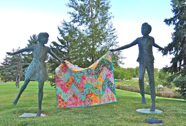 Cascade quilt pattern, Amy Butler, Kaffe Fassett, Tula Pink