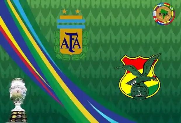 الأرجنتين,منتخب بوليفيا,كوبا أمريكا 2021