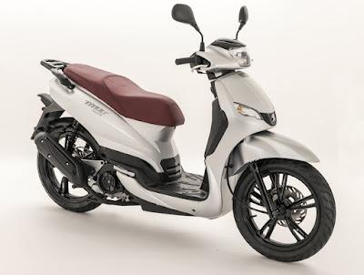 Peugeot Scooter Tweet 125 Evo, motor