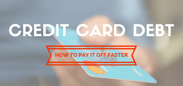How to Pay Off Credit Card Debt If you have credit card debt, you are not alone.    According to the Federal Reserve, the total credit card credit value increased from $ 5.65 trillion in 2015 to $ 5.98 trillion in 2016. (1)    This means that North America has a crazy credit card credit amount. And even what people say to you, credit cards do not need to be a way of life. Here's how to pay your credit card debt once and for all.