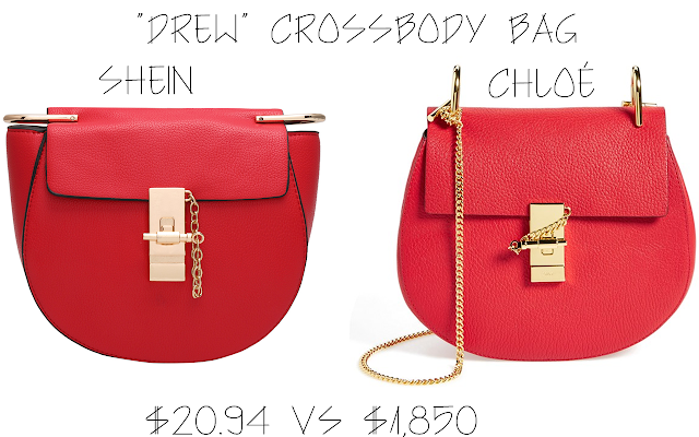 "Save vs Splurge - ""Drew"" Crossbody Bag 