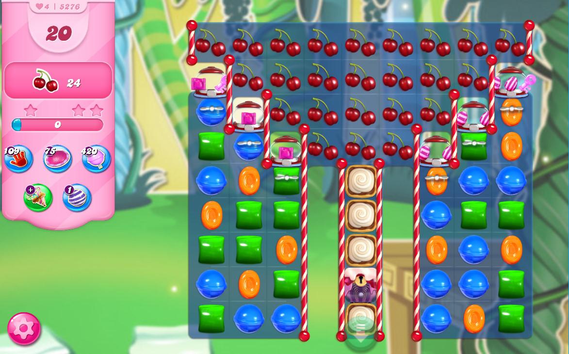 Candy Crush Saga level 5276