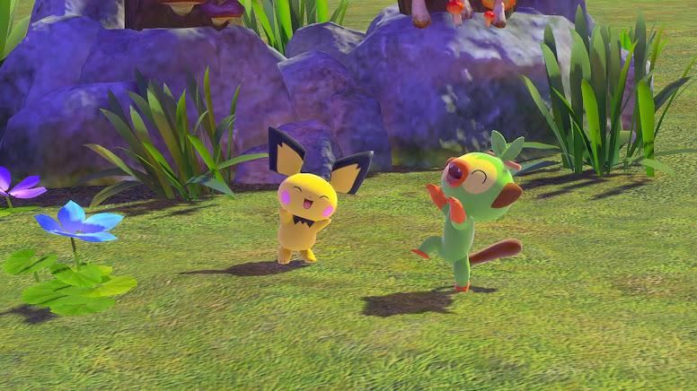 New Pokémon Snap - Pokémon Interagindo