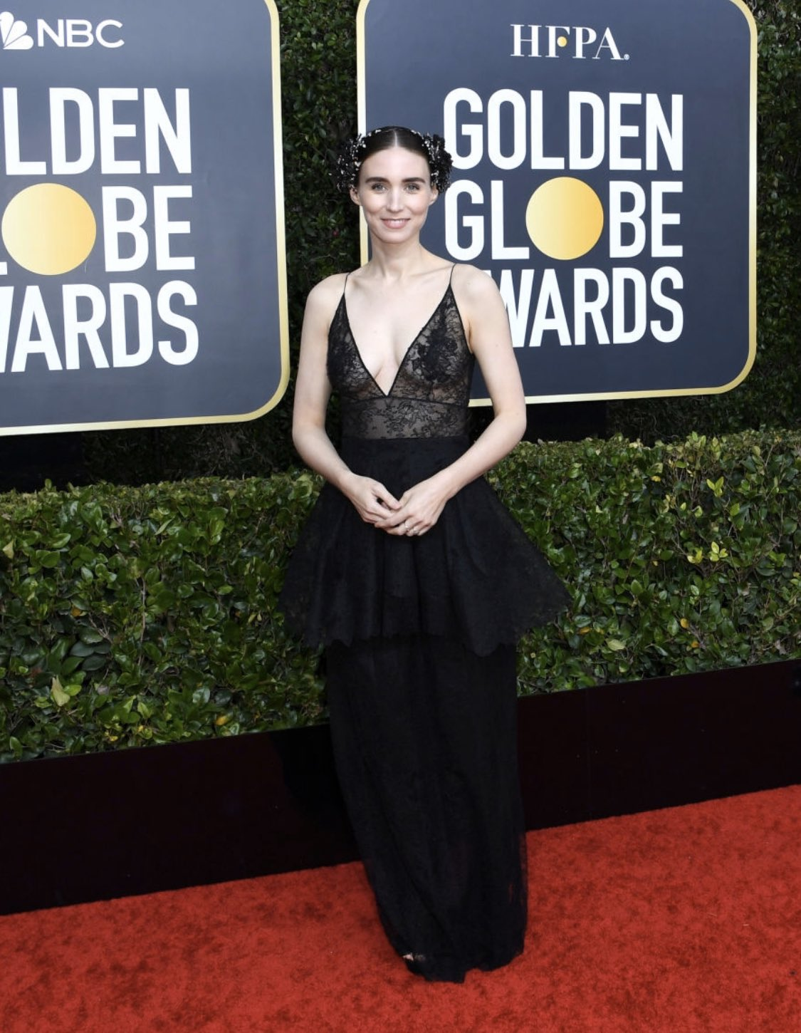 Rooney Mara flaunts Givenchy Haute Couture at the 2020 Golden Globe Awards