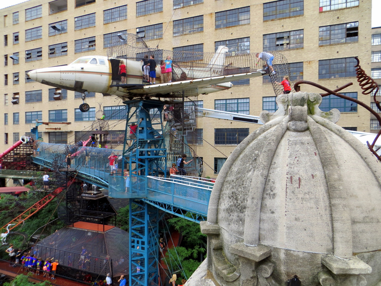 36333e1abf30 OTIS (Odd Things I ve Seen)  Playground of Terror  The City Museum