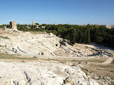 Teatro Greco (Greek Theatre), Siracusa | Sicily, Italy | Source: Wikimedia