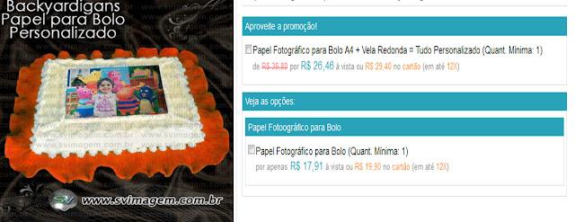 papel para bolo personalizado com preço super barato, não é papel arroz