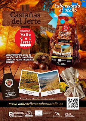 """CONCURSO """"Saboreando el otoño"""". CASTAÑAS DEL VALLE DEL JERTE"""