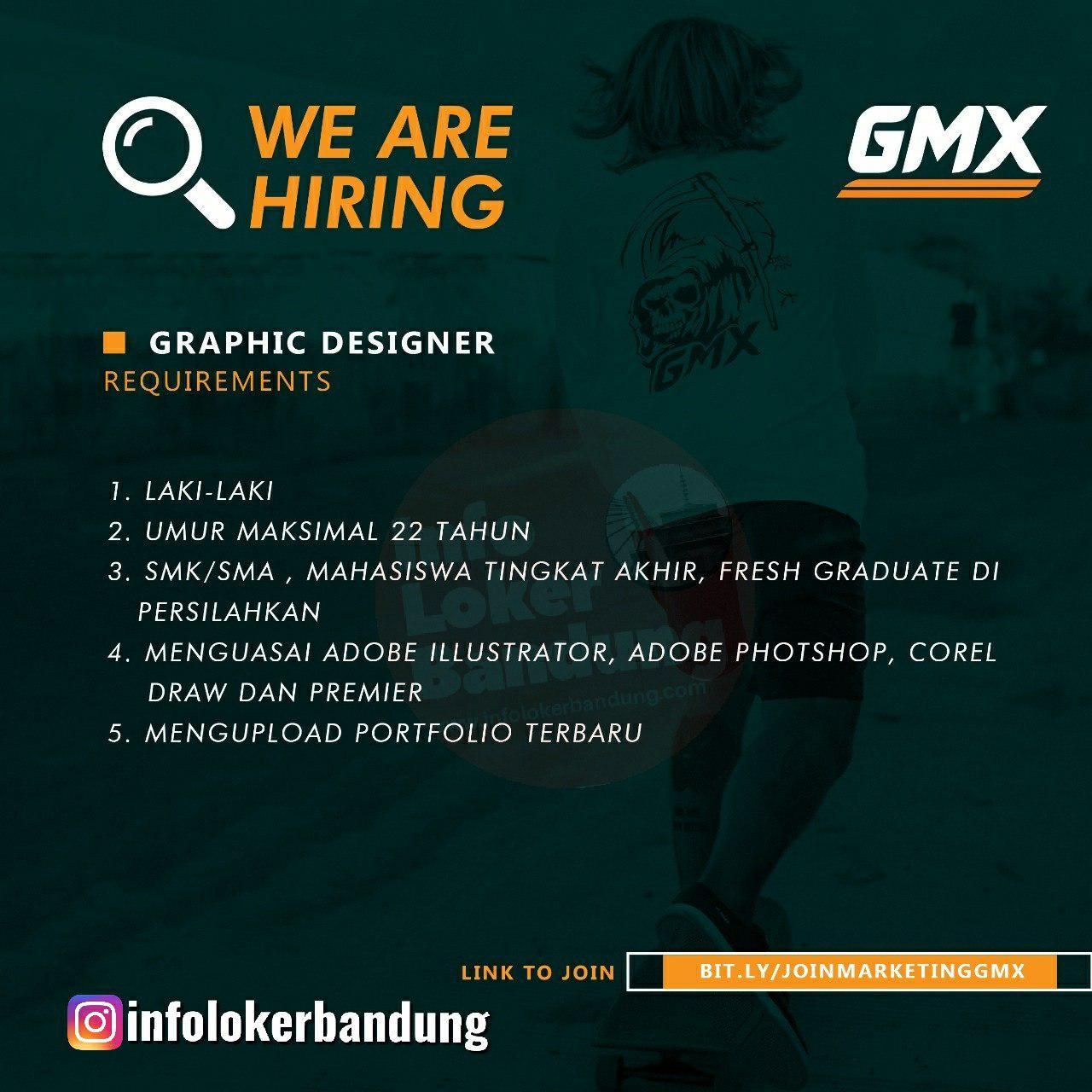 Lowongan Kerja Graphic Designer Gmx Bandung Desember 2019