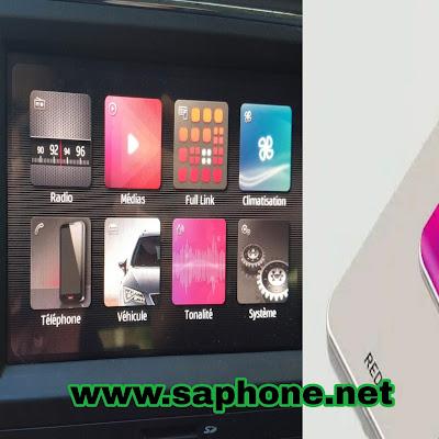 Connecter téléphone avec une écran tactile de voiture : CadPlay, Android Auto, MirrorLink, Full Link pour Seat