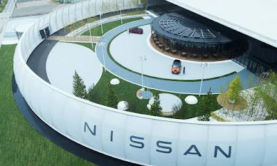 Nissan Pavilion é inaugurado no Japão e aceita eletricidade para taxas de estacionamento