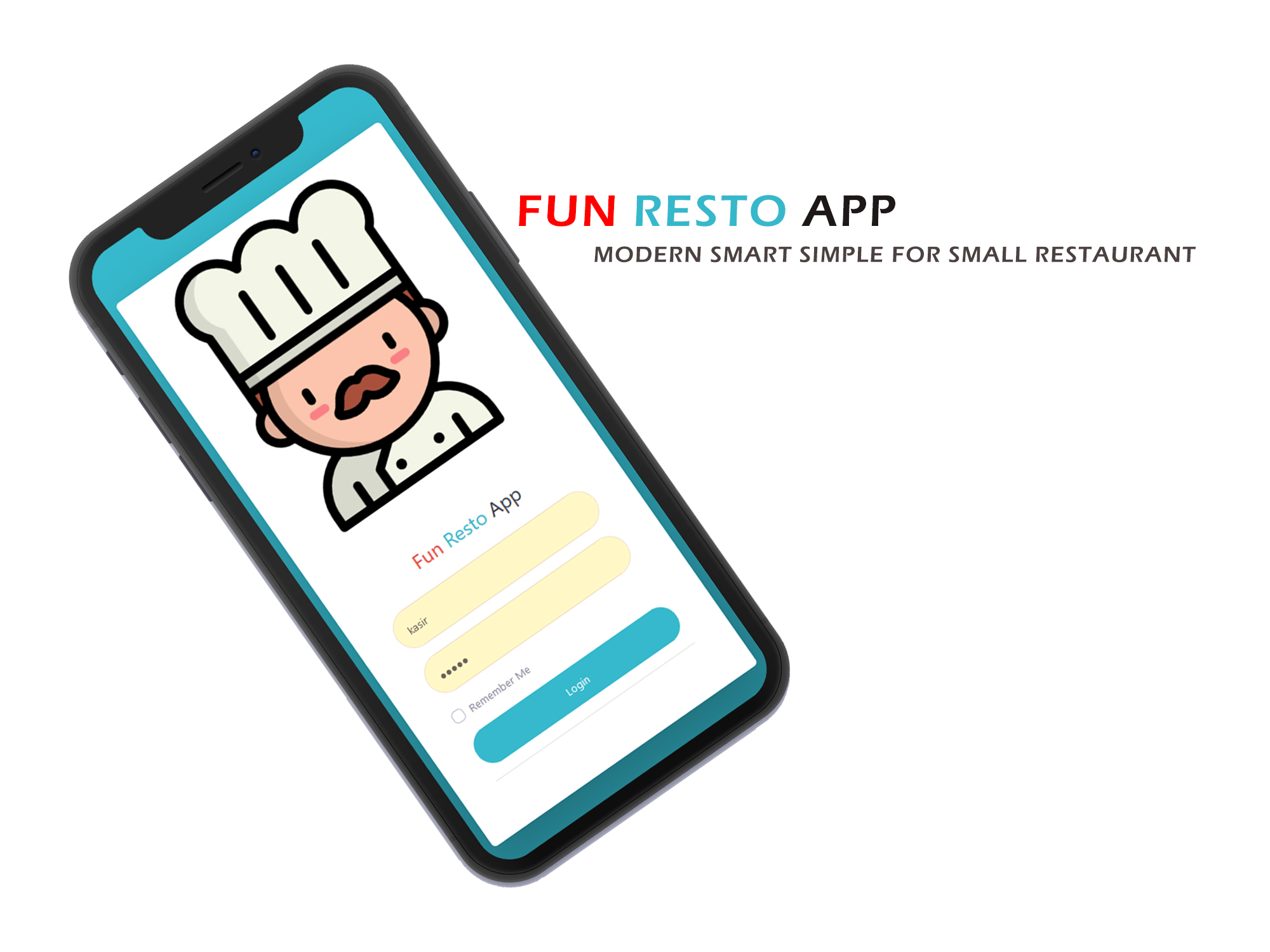 aplikasi restoran cafe