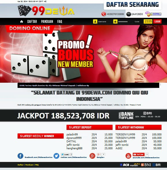 Judi Poker Online 2014